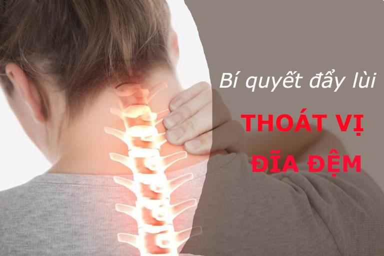 Bí quyết nào giúp đẩy lùi cơn đau do thoát vị đĩa đệm