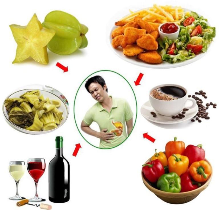 Tránh xa những thực phẩm có hại cho dạ dày