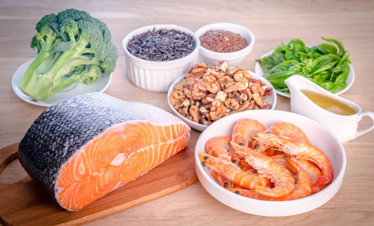 Người bệnh nên tăng cường bổ sung các loại thực phẩm giàu omega-3