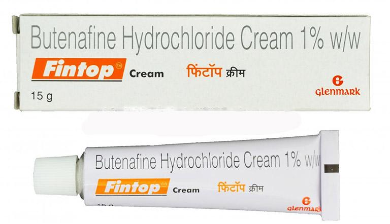 Thuốc Butenafine Hydrrochloride có tác dụng kiềm hãm và ức chế các loại nấm gây nên bệnh hắc lào