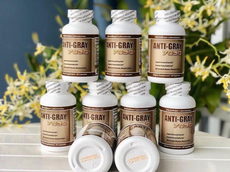 Anti Gray 7050 là loại thuốc trị tóc bạc sớm được nhiều người lựa chọn