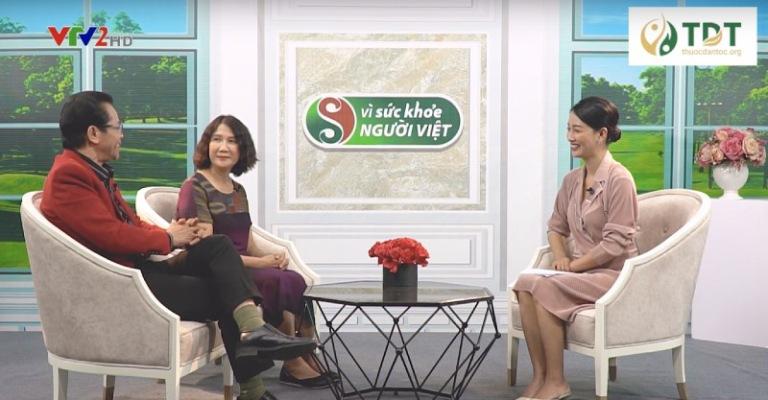 BS Tuyết Lan và NSND Trần Nhượng trao đổi về bệnh lý dạ dày