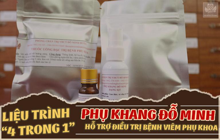Thuốc điều trị khí hư có mùi hôi dứt điểm từ thảo dược tự nhiên