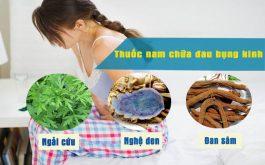 Thuốc nam chữa đau bụng kinh