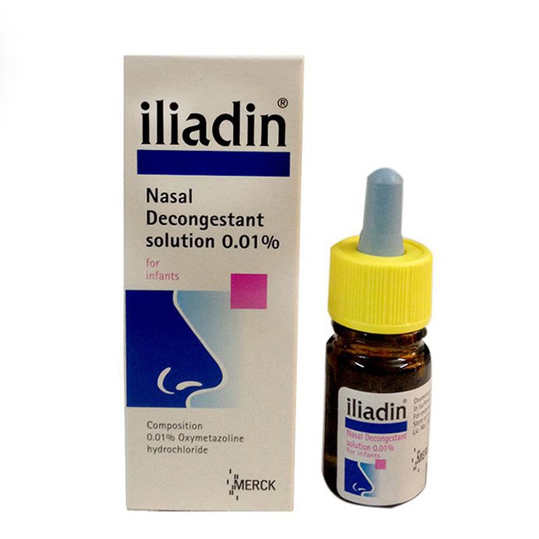 Thuốc nhỏ mũi Iliadin