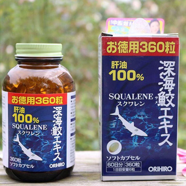 Viên uống sụn vi cá mập Orihiro