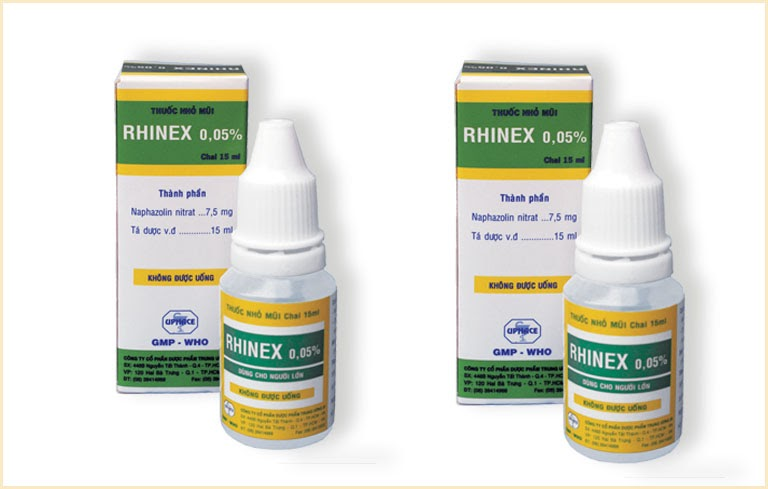 Thuốc trị nghẹt mũi Rhinex 0,05%