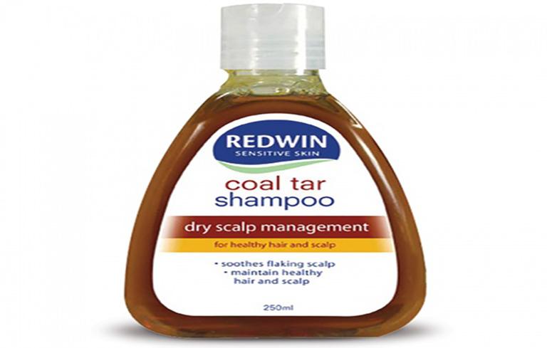 Coal tar là thành phần trong các loại dầu gội trị vảy nến da đầu