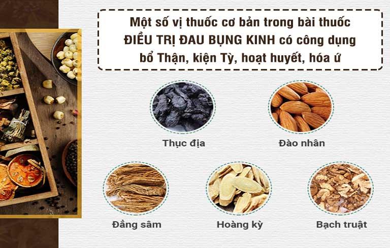 Một số vị thuốc được bác sĩ Hà sử dụng, mang dược tính cao