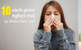 Mẹo trị nghẹt mũi