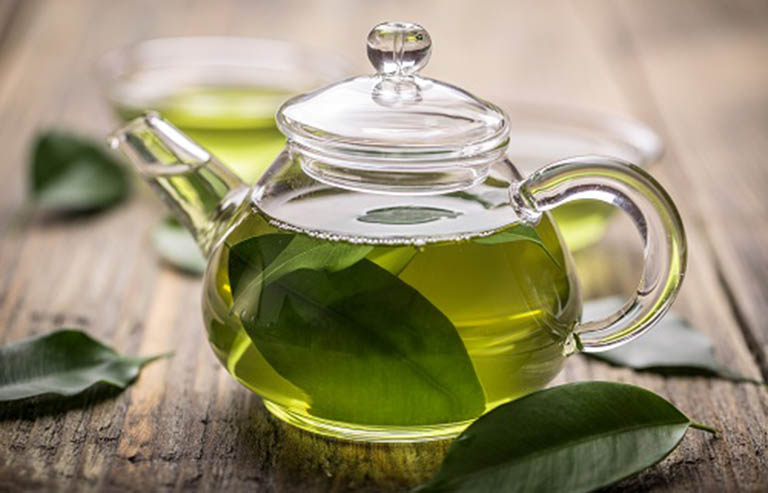 Nước lá trà xanh có tác dụng giảm cân, làm đẹp da và cải thiện sức khỏe