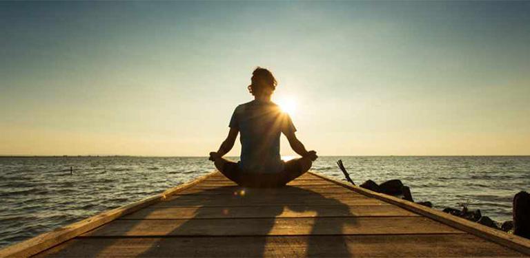 Thiền định ngăn ngừa vẩy nến