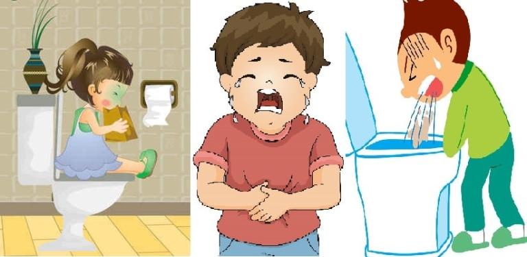 Rối loạn tiêu hóa là dấu hiệu nhiễm vi khuẩn HP ở trẻ
