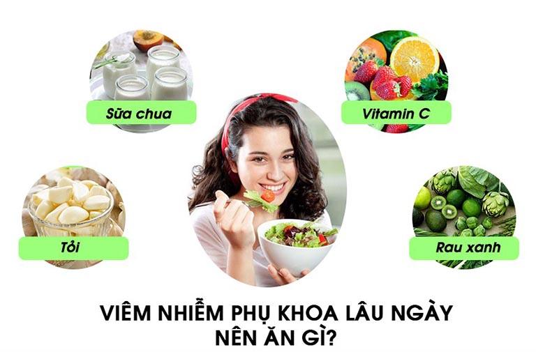 Bổ sung các thực phẩm có lợi cho quá trình chữa bệnh viêm lộ tuyến