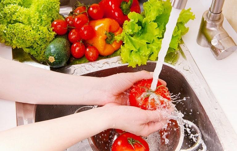 Trái cây và rau xanh giúp tăng cường miễn dịch, hỗ trợ điều trị viêm phế quản