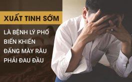 Xuất tinh sớm là vấn đề khiến nam giới đau đầu