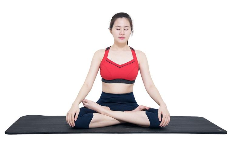 Động tác hít thở giúp cơn đau được kiểm soát và tinh thần thêm phấn chấn hơn