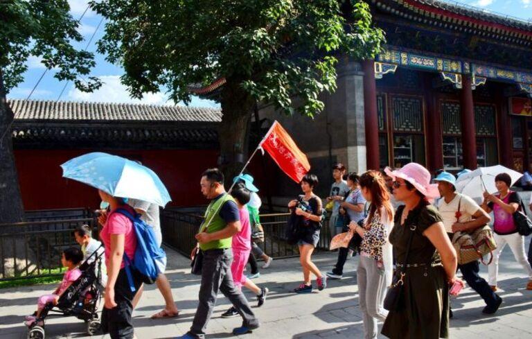 Anh Phạm Tuấn Luân trong chuyến đi Trung Quốc