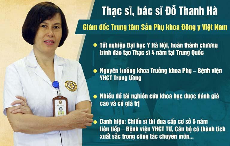 Bác sĩ Thanh Hà với nhiều năm kinh nghiệm đã nhận được sự tin tưởng và yêu mến của rất nhiều bệnh nhân
