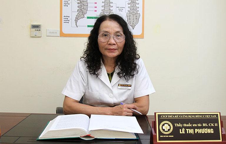 Bác sĩ Lê Phương - Giám đốc Trung tâm Thừa kế và Đông y Việt Nam