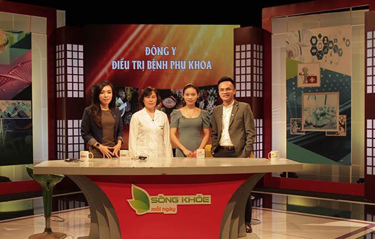 Bác sĩ Thanh Hà là một cây đại thụ trong lĩnh vực YHCT, từng được mời đến tham gia chương trình Sống khỏe mỗi ngày