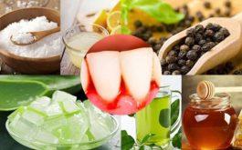Các bài thuốc dân gian chữa viêm chân răng