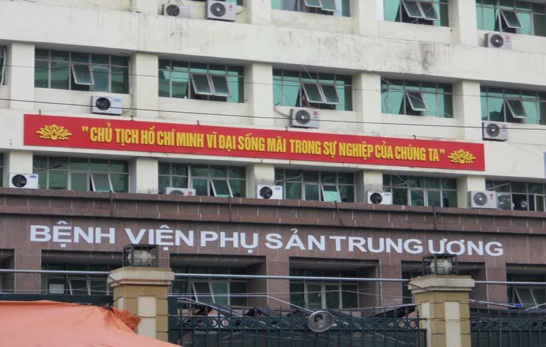 Bệnh viện Phụ sản Trung ương, một địa chỉ khám chữa bệnh kinh nguyệt uy tín