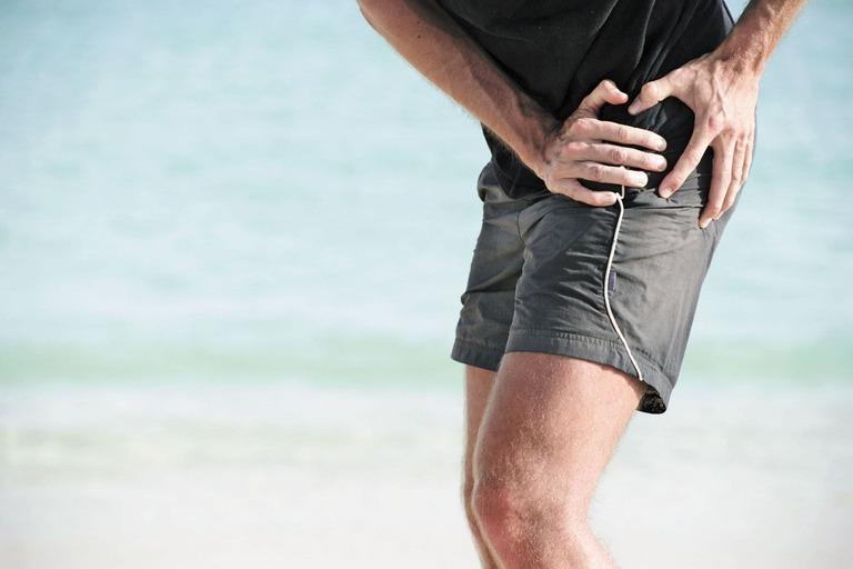 vị trí đau lưng dưới gần mông