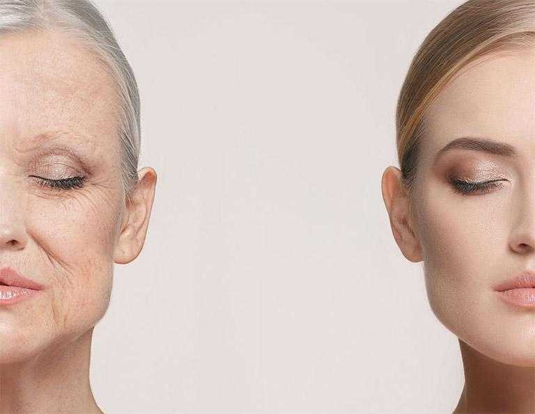 Chăm sóc da mặt đúng cách cũng có tác dụng làm chậm quá trình lão hóa da