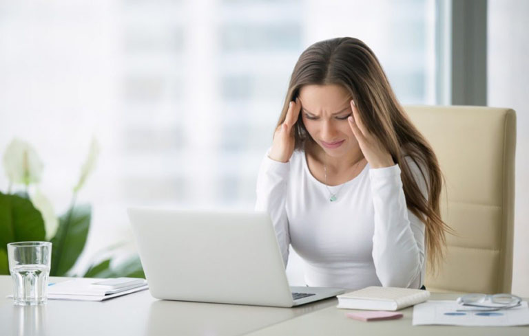 Căng thẳng là một nguyên nhân khiến kinh nguyệt bị rối loạn