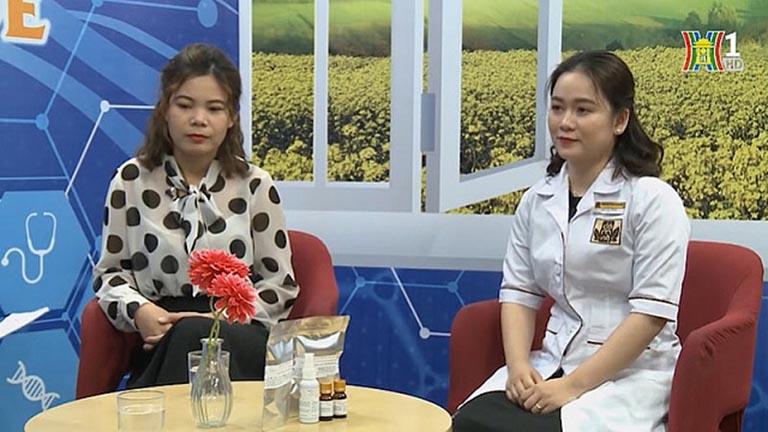 Chị Phương Mai tham gia chương trình Vì sức khỏe của bạn