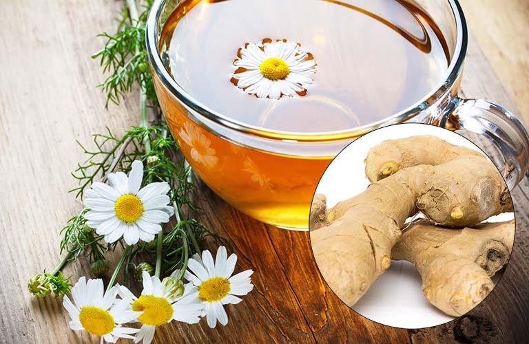 Sử dụng kết hợp hoa cúc tươi và gừng điều trị bệnh viêm chân răng có mủ