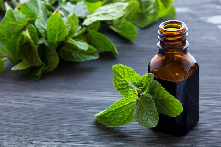 Tinh dầu bạc hà có chứa nhiều thành phần có tác dụng kháng khuẩn, tiêu viêm, giúp làm dịu các cơn đau răng khôn khi về đêm