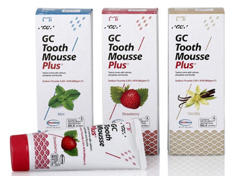 GC Tooth Mousse Plus là gel bôi chăm sóc sức khỏe răng miệng và chống ê buốt răng rất tốt