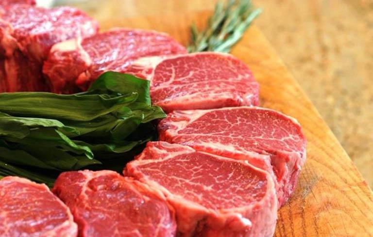 Hạn chế ăn thịt đỏ khi bị lạc nội mạc tử cung