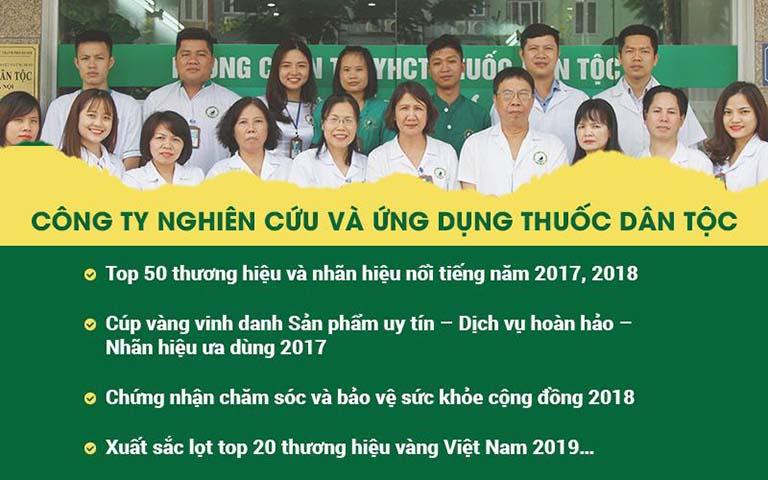 Nhờ hiệu quả chữa đau dạ dày vượt trội, Trung tâm Thuốc dân tộc đã đạt được nhiều thành tự đáng nể
