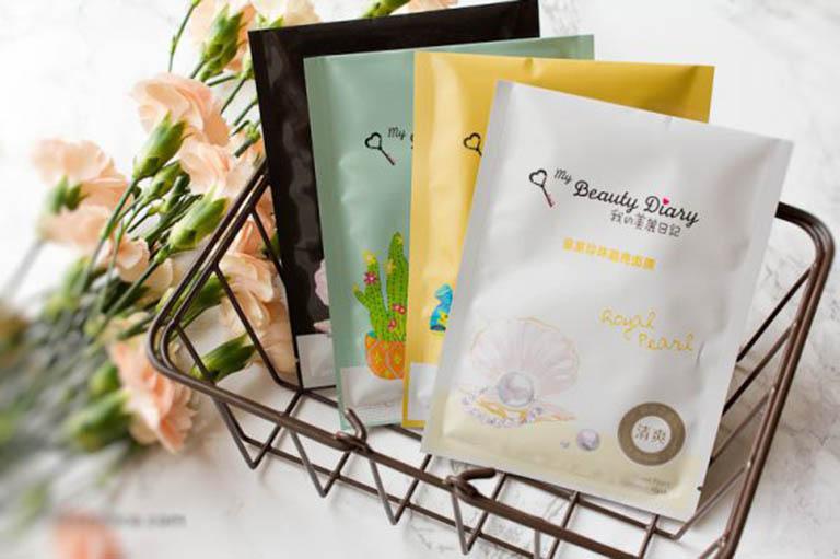 Mặt nạ giấy điều trị mụn My Beauty Diary thích hợp sử dụng cho những trường hợp da dầu