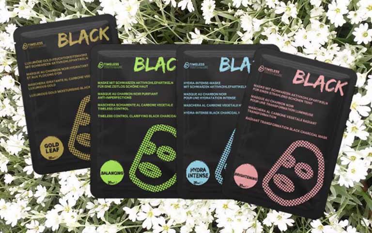 Timeless Truth Control Clarifying Black Charcoal Mask thích hợp sử dụng cho trường hợp da mụn