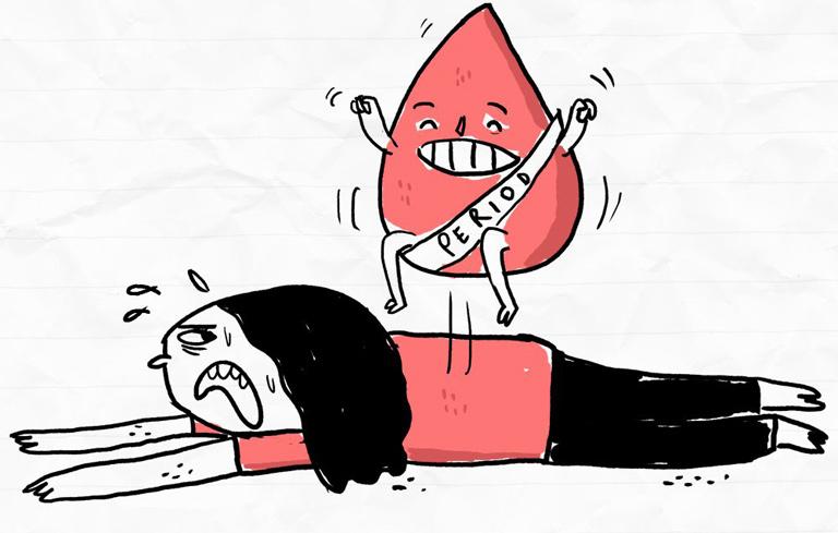 Chị em nên thay băng vệ sinh thường xuyên trong ngày đèn đỏ để không bị ngứa vùng kín ngày Tết