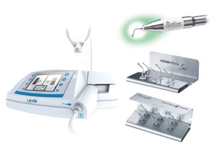 Kỹ thuật nhổ răng cấm hiện nay đã có sự trợ giúp của máy siêu âm nên an toàn và dễ dàng hơn.