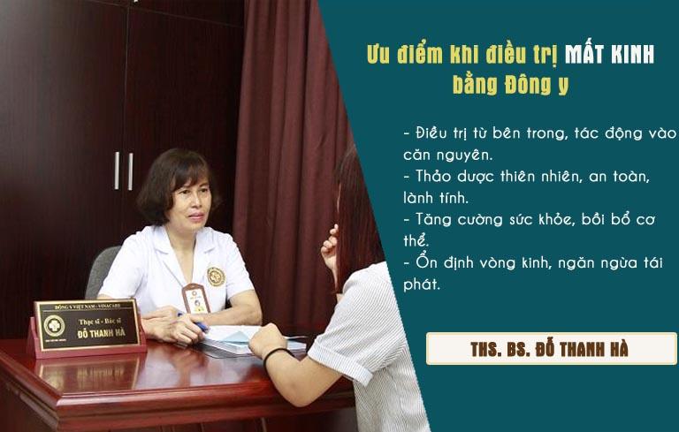 Những ưu điểm vượt trội khi điều trị mất kinh bằng Đông y