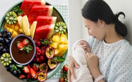 Một số loại quả giúp cung cấp vitamin và những chất dinh dưỡng cần thiết cho mẹ sau sinh