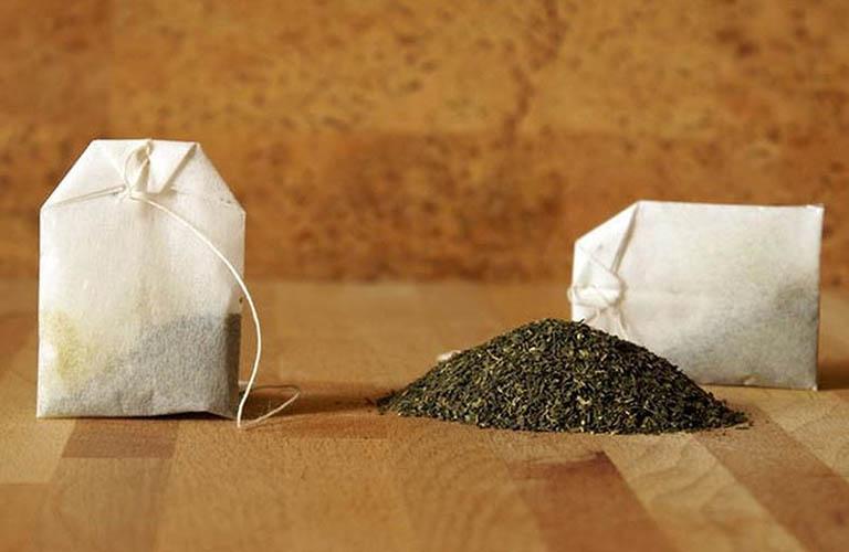 Cách dùng túi trà bạc hà chữa chứngrăng ê buốt và nhức