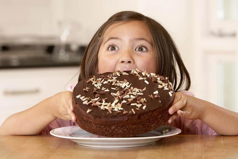 Thói quen ăn nhiều đồ ngọt