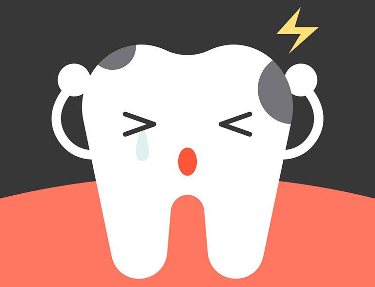 Sưng nướu răng trong cùng hàm dưới