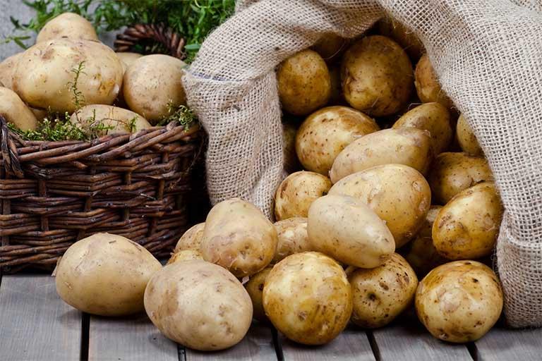 Khoai tây có công dụng hữu ích đối với các bệnh nhân mắc dạ dày