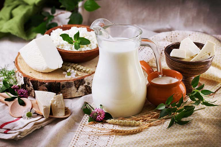 Sữa và một số chế phẩm từ sữa