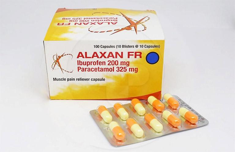 Thuốc giảm đau răng cấp tốc Alaxan là thuốc có sự kết hợp giữa thành phần hoạt chất Paracetamol là Ibuprofen