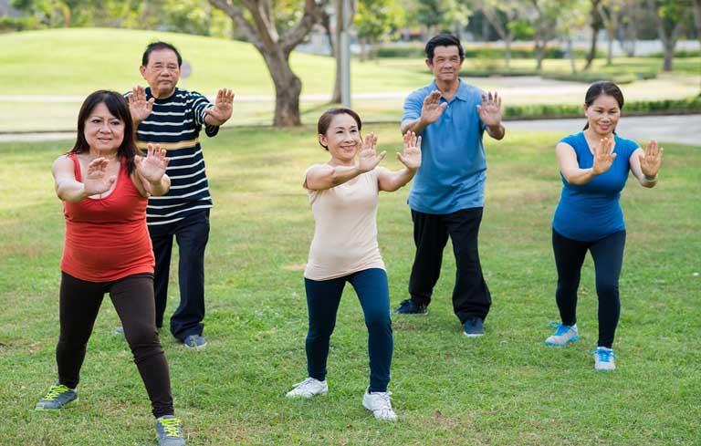 Tập thể dục thường xuyên để nâng cao sức khỏe