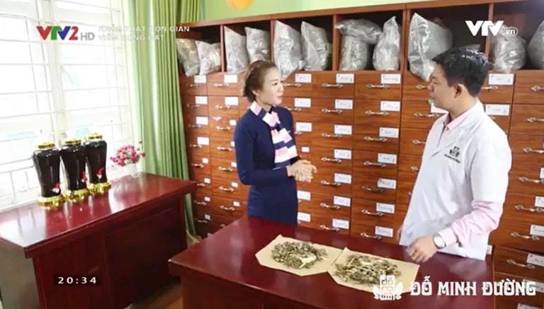 Nhà thuốc Đỗ Minh Đường xuất hiện trên VTV2